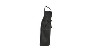 M&S Textilien, Latzschürze schwarz 3060-2