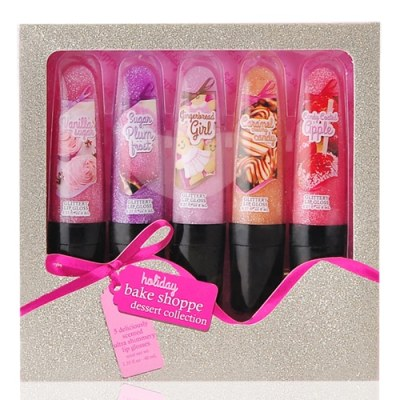 Holiday Bake Shoppe Dessert Collection 5Pcs Shimmery Lipgloss Set - купити в Україні