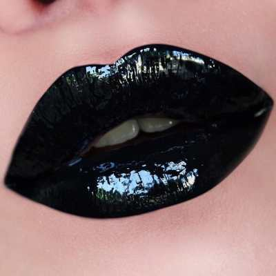 KISS Dark Seduction Lip Gloss (Black) - купити в Україні
