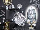 Каучуковый гель-лак Rio Profi серия DIAMOND №1 Алмазные Искры, 7 мл