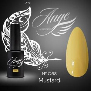 Каучуковый гель-лак Ange by Rio Profi №68 Mustard, 7 мл