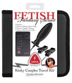 Fetish Fantasy Series Shock Therapy Kinky Couples Travel Kit - Shop-Naughty.co.uk