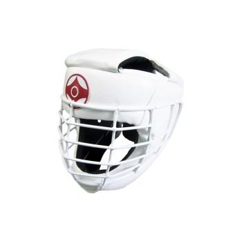 Шлем для каратэ со спецстальной маской