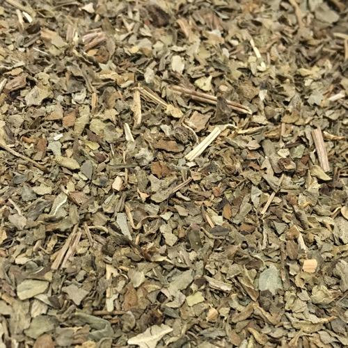 Basilikum in getrockneter Form