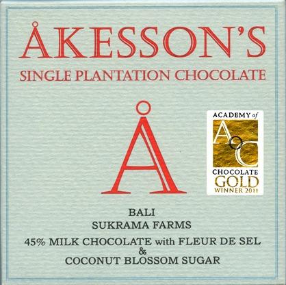 Milchschokolade mit Salz und Kokosblütenzucker