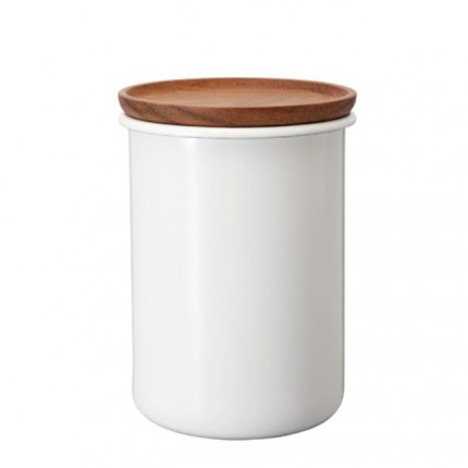 Bona Teebehälter aus emaillierten Stahl 800 ml