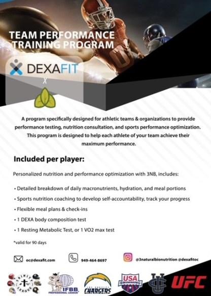 JSerra | DexaFit Performance Nutrition Program