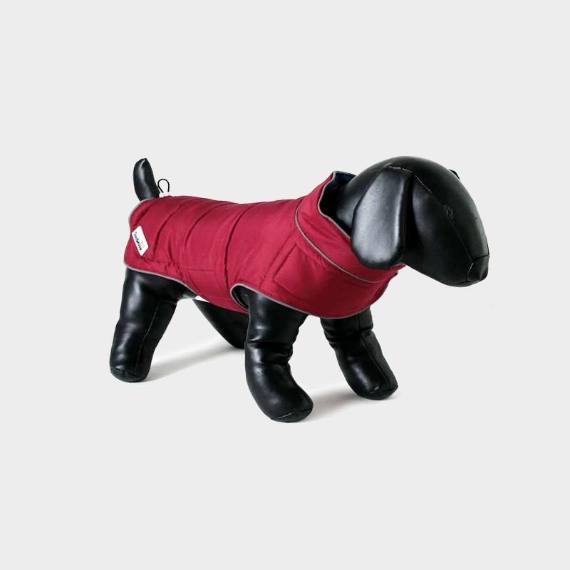 Himbeer Combi-Puffer-Hundejacke von Doodlebone®