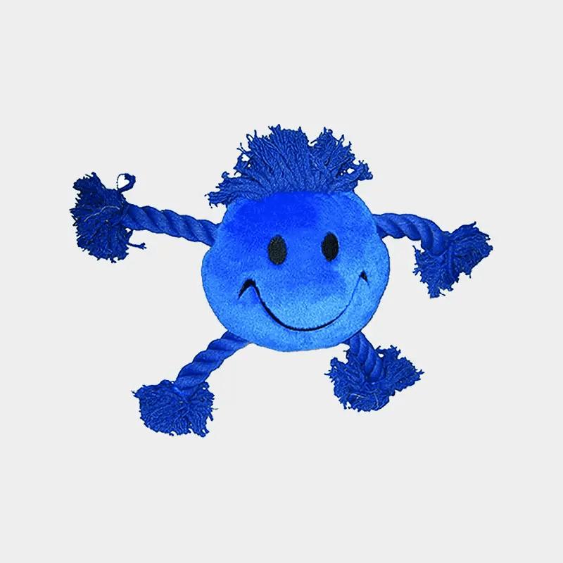 Hundespielzeug Happy Faces von Happy Pet in der Farbe blau