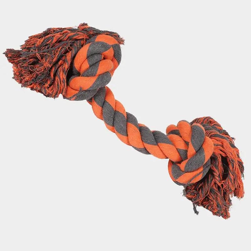 Nuts for Knots Extreme 2-Knoten-Tau von Happy Pet mit den Maßen 60 x 17 x 18 cm