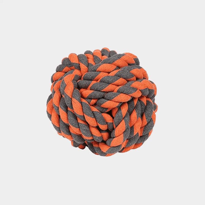 Nuts for Knots Extreme Ball von Happy Pet mit den Maßen 24 x 24 x 24 cm