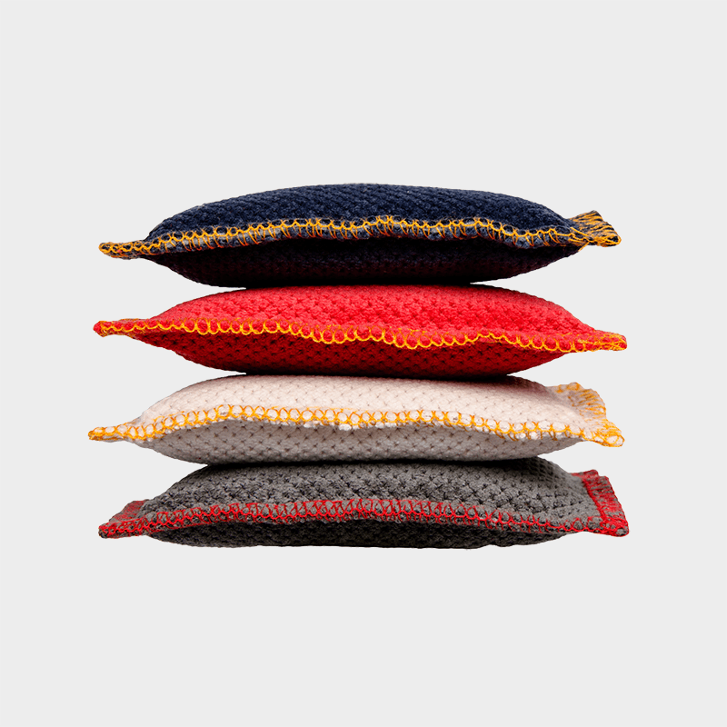 Stacked premium cushions by 4cats
