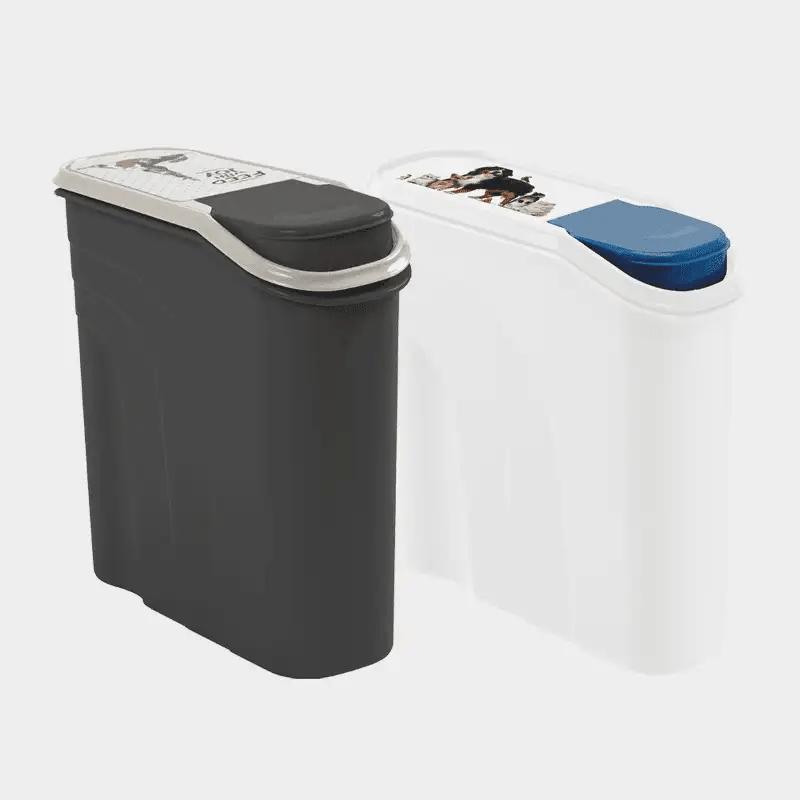 Rotho MyPet Futter Schüttdose - Ansicht beider Varianten 6 l