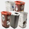 Rotho MyPet Cody Set bac d'alimentation + pelle - disponible en 5 versions, 25 l