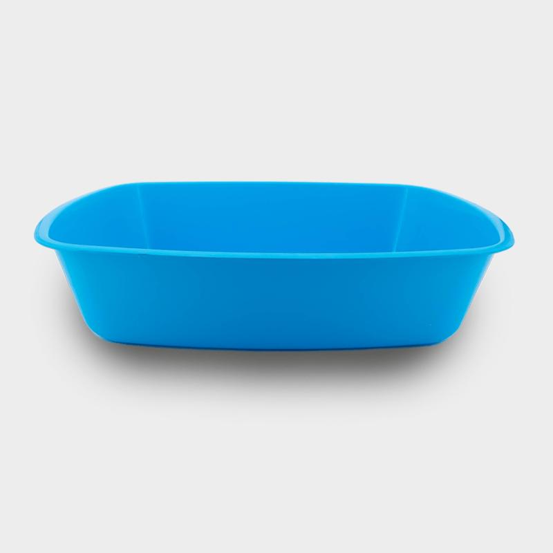 Blaue Katzentoilette von Mecanhor