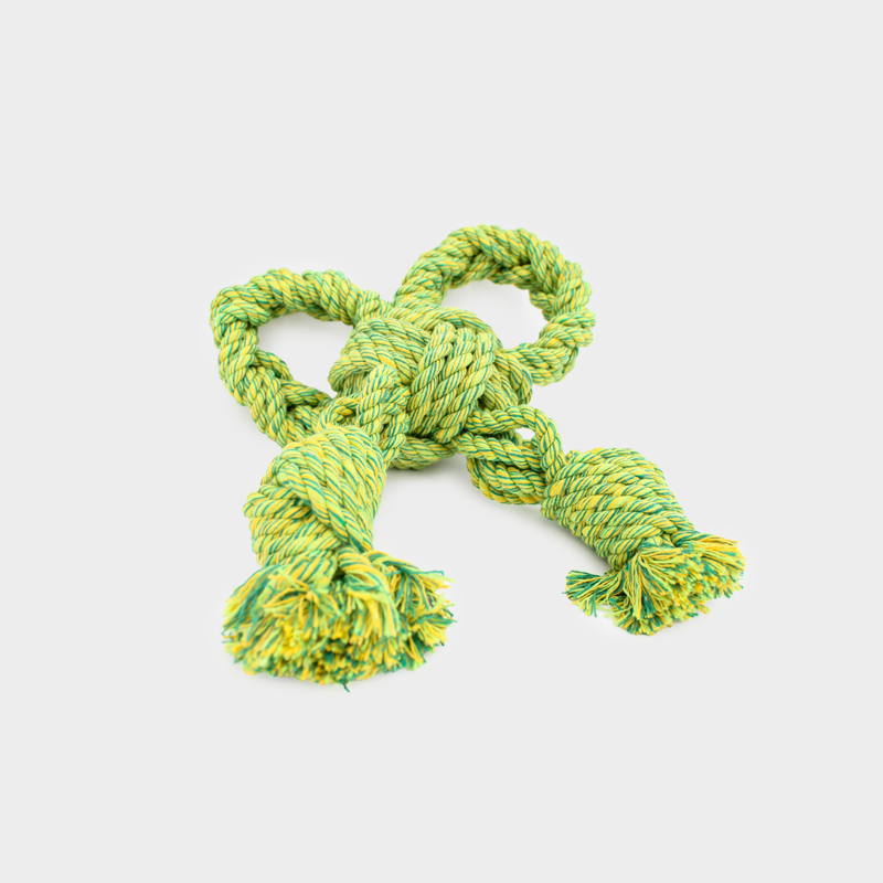 Green Nuts for Knots bow size S by Happy Pet