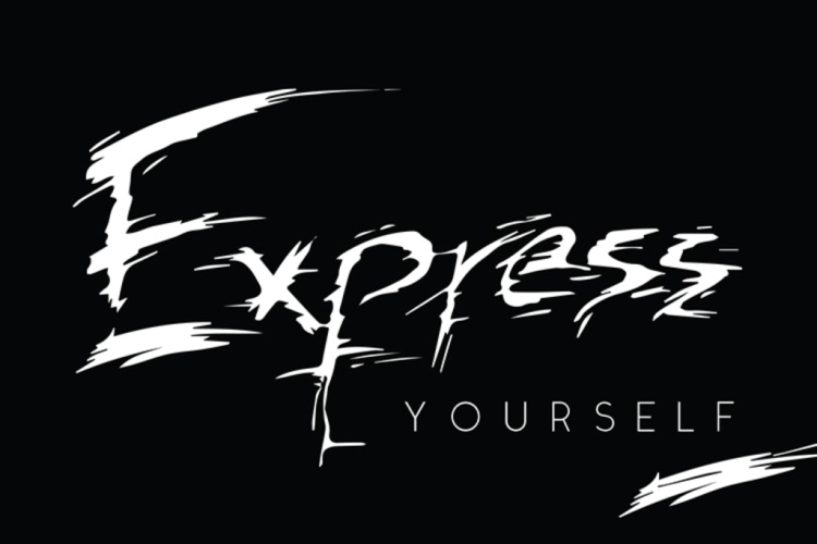 Express yourself handletterred.