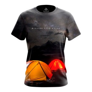 Million Star Hotel Sublimation Camping Tshirt