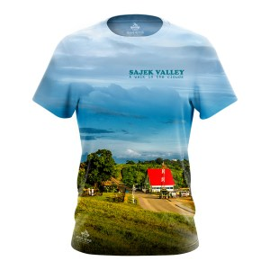 Sajek Valley Sublimation Tshirt