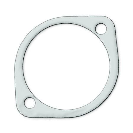 exhaust gasket universal 3 22 pipe 2 bolt holes 3 inch pipe diameter circle 4 1 8 inch circle