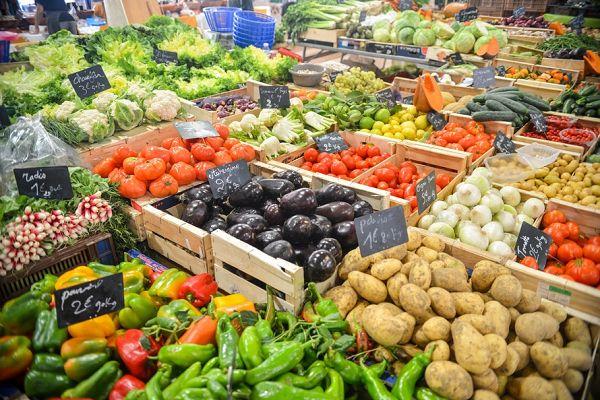 Lebensmittel Nr. 4: Gemüse