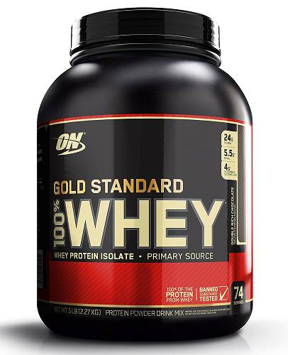 Gold Standard 100% Whey - 2273g - Optimum Nutrition