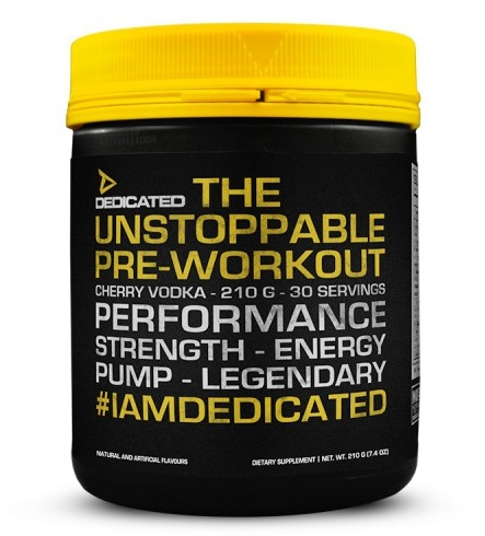 Unstoppable V2 - 210g - Dedicated Nutrition