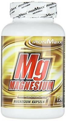 Magnesium - 130 Kapseln - Ironmaxx