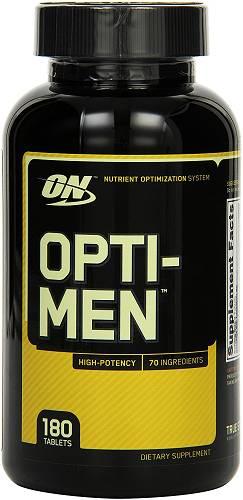 Opti-Men - Multivitamine -180 Kapseln - Optimum Nutrition