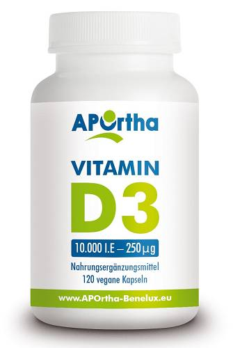 Vitamin D3 Depot - 120 Kapseln - APOrtha
