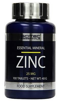 Zink (Zinkgluconat) - 100 Tabletten - Scitec