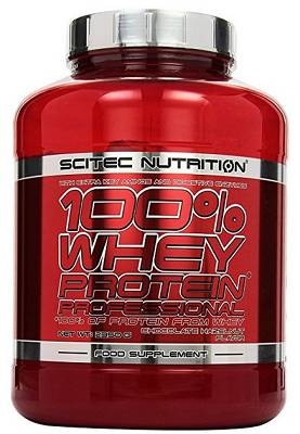 100% Whey Professional - 2350g (2,35kg) - Scitec Nutrition