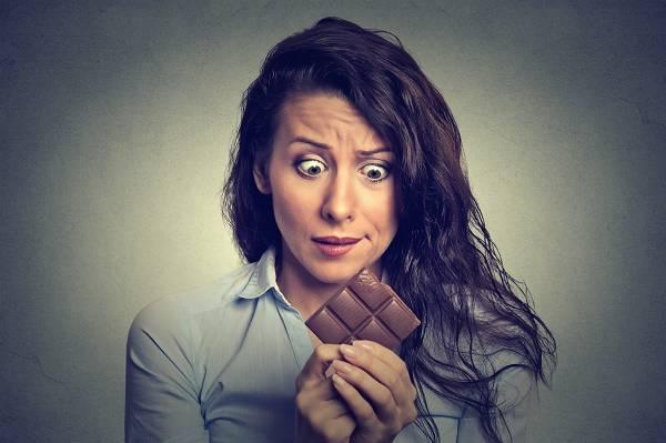 Schokolade & Heißhunger bei Frauen