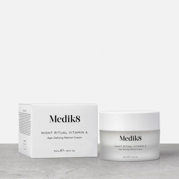 Medik8 Night Ritual Vitami A αντιγήρανση ενυδάτωση βιταμίνη α καλλυντικά