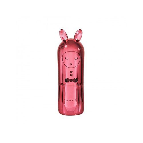 Inuwet Bunny Lip Balm Metal Red μακιγιάζ χείλη