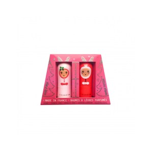 Inuwet Bunny Lip Balm Set Noel Edition μακιγιάζ χείλη