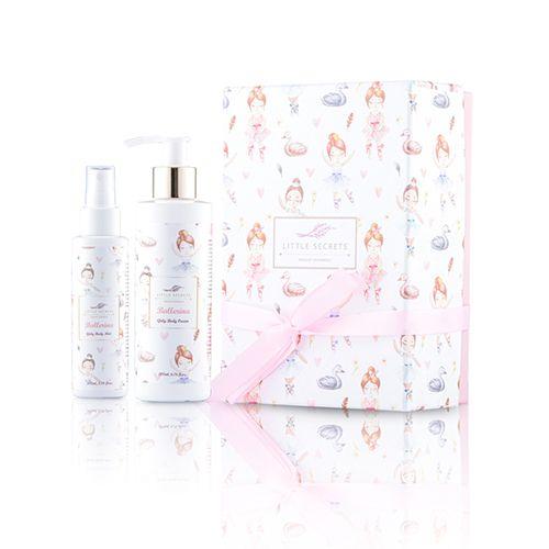 Little Secrets Ballerina Gift Box πρόσωπο σώμα κρέμα σώματος mist