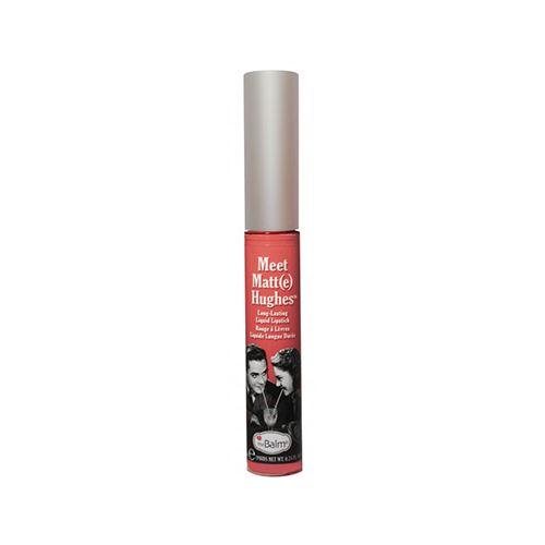 The Balm Hughes Honest Liquid Lipstick Warm Coral υγρό κραγιόν