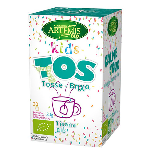 Artemis Bio Μείγμα Βοτάνων για Παιδικό Βήχα τσάι