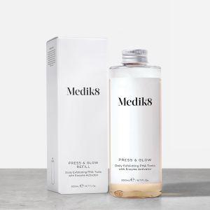 Medik8 Press & Glow Refill λοσιόν απολέπιση καλλυντικά