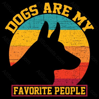 Dogs Are My Favorite People AllSunsets Preview