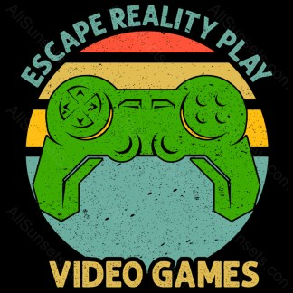 Escape Reality Play Video Games AllSunsets Preview