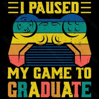 I Paused My Game To Graduate AllSunsets Preview