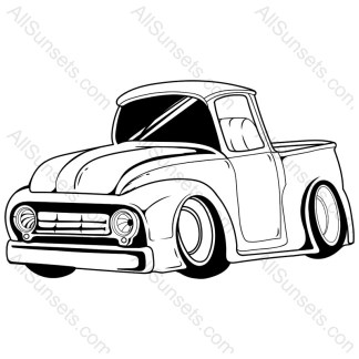 Big Wheels Hotrod Pickup Truck