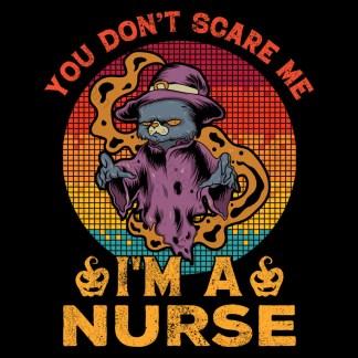 Don't Scare Me I'm A Nurse Costume Design
