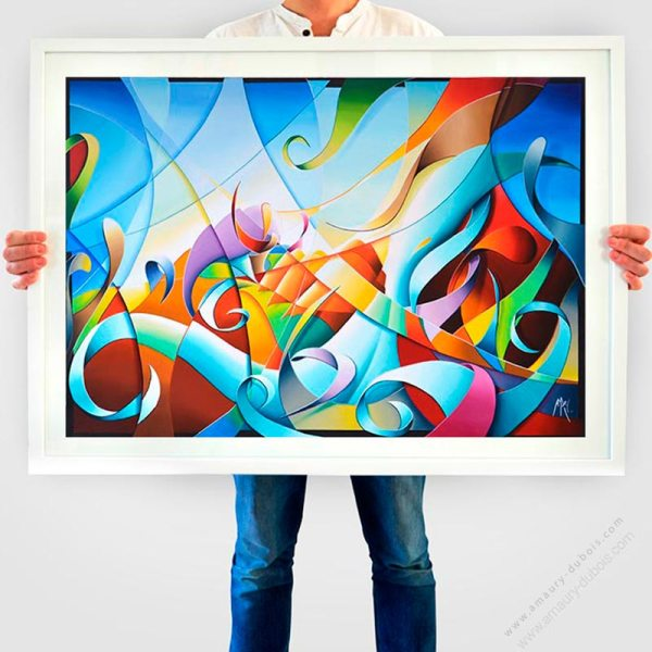 abstract colorful fine art prints for sale