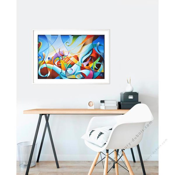 abstract colorful limited edition prints online