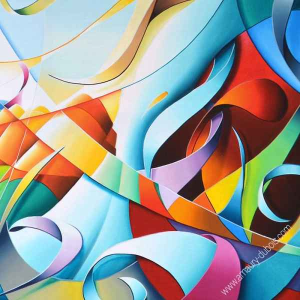 abstract colorful art edition