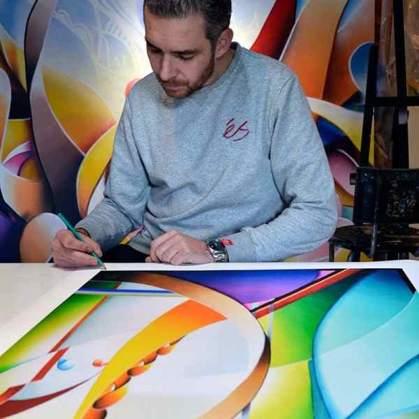 abstract limited and signed art prints