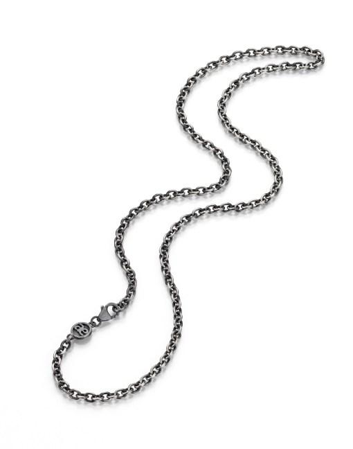 Kette AE- breit-silber